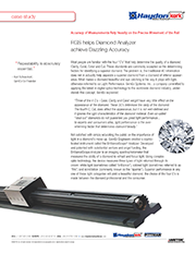 Kerk Lead Screws Help Diamond Analyzer Achieve Dazzling Accuracy