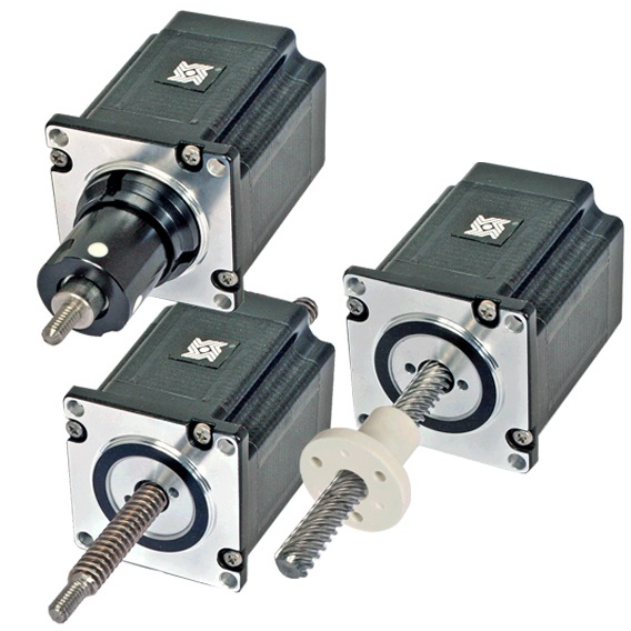 Size 23 Double Stack Stepper Motor Linear Actuator